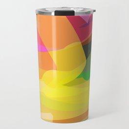 abstract print Travel Mug