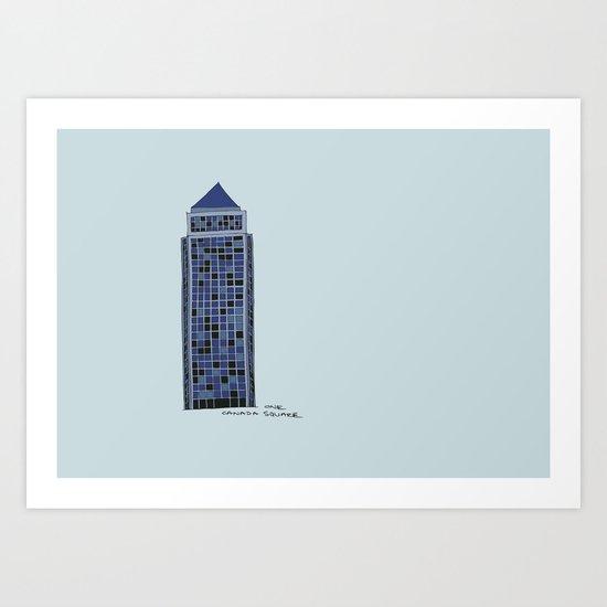 One Canada Square Art Print