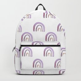 Lilac Lavender Rainbows Backpack
