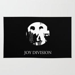 JOY DIVISION - Music | Goth | Indie | Wave | Retro | Vintage | Vector | Black and White | Vinyl  Rug