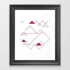 Tree-Angle Framed Art Print