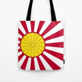 Japanese Flag And Inperial Seal Tote Bag