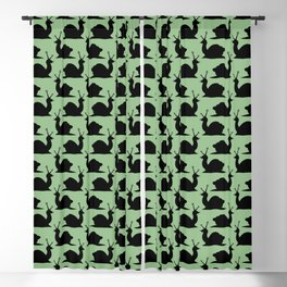 Angry Animals - Snail Blackout Curtain