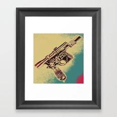 Pew! Pew! Framed Art Print