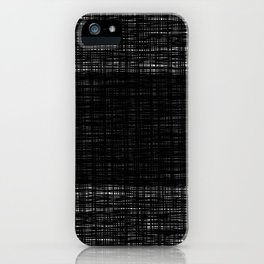 platno (center stripe) iPhone Case