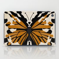 rorschach iPad Cases featuring Rorschach Monarch by AdamAether