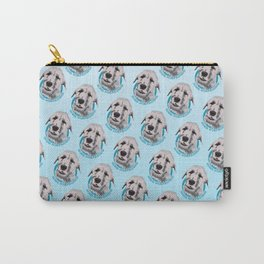 Irish Wolfhound Print Carry-All Pouch