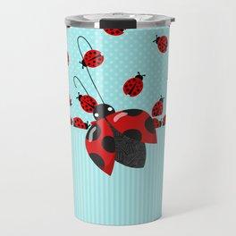 Sweet Ladybugs Travel Mug