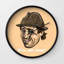 Snatch - Brad Pitt Wall Clock