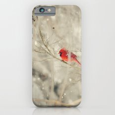 A bird on a winter's day iPhone 6s Slim Case
