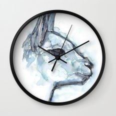 Vicuna Portrait Wall Clock