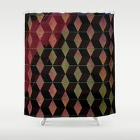 cosmic Shower Curtains featuring Cosmic by Susan Marie