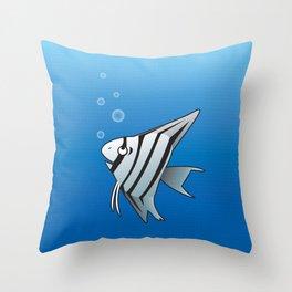 Little Angel fish Throw Pillow