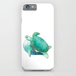 Sea Turtle - Sojourner's Spirit iPhone Case
