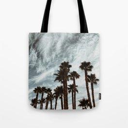 Moody Palms Tote Bag