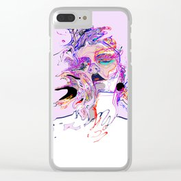 Helené Clear iPhone Case