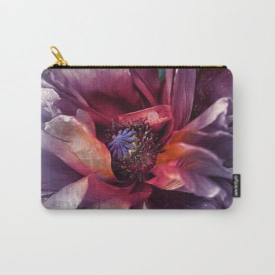Abstract poppy(2). Carry-All Pouch