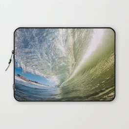 Glassy Green Laptop Sleeve