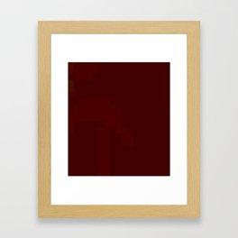 ABSTRACT PIXELS #0008 Framed Art Print