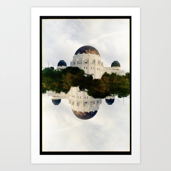Griffith Observations (35mm multiple exposure) Art Print