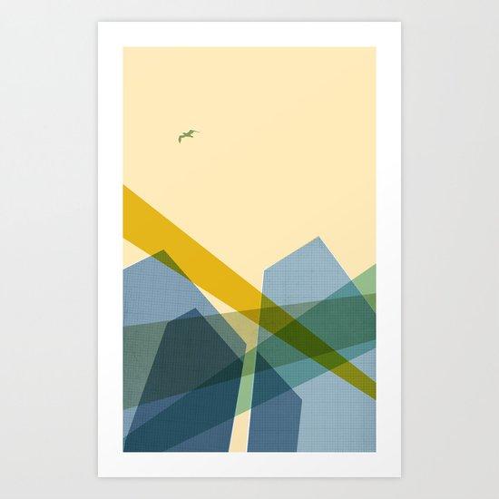 TD Towers Art Print
