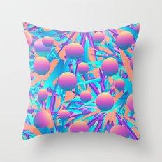 Blind Face Throw Pillow