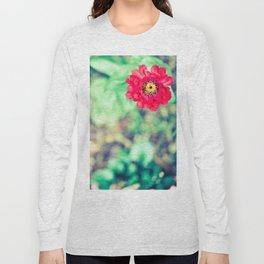 Ruby Petals Long Sleeve T-shirt