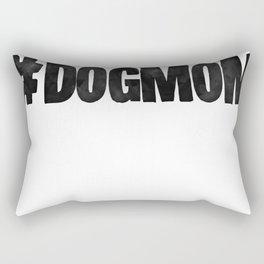 #DogMom Rectangular Pillow