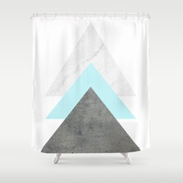 Arrows Collage Shower Curtain