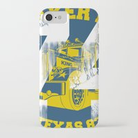 sneaker iPhone & iPod Cases featuring Sneaker King by Kristian Boserup