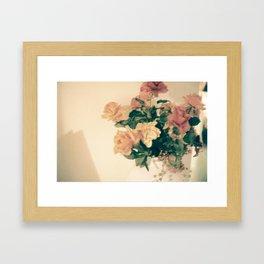 Melody's Bouquet Framed Art Print