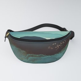 Indigo Mountains Fanny Pack