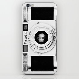 Paxette vintage camera iPhone Skin