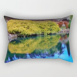Pond at Ginter Rectangular Pillow