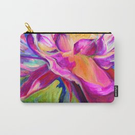 """Flor de Lotus"" Carry-All Pouch"