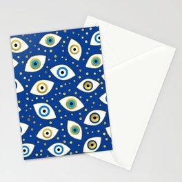 Nazar Eye Amulet pattern #3 Stationery Cards