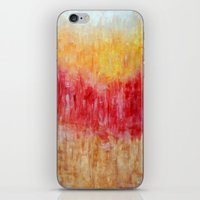 the strokes iPhone & iPod Skins featuring Strokes by Bonnie J. Breedlove