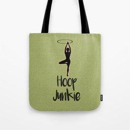 Hoop Junkie Green *Hula hoop*hooping*festval wear* Tote Bag