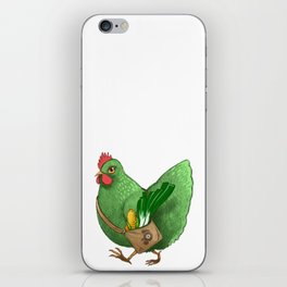 Poupoule iPhone Skin