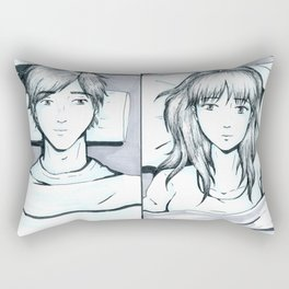 Not So Far Away Rectangular Pillow