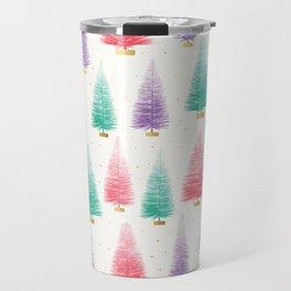 Bottle Brush Trees Travel Mug