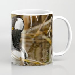 Hooded Mergser in the Wetland Coffee Mug