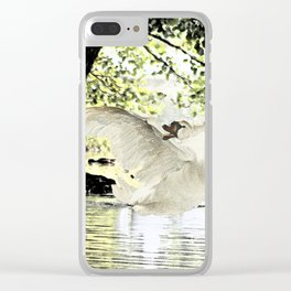 Swan Lake Part two. Clear iPhone Case
