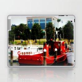 Little red tug Boat Laptop & iPad Skin