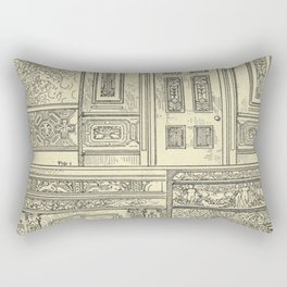 Architectural Elements Rectangular Pillow