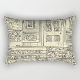 Architectural Elements Rectangular Pillow