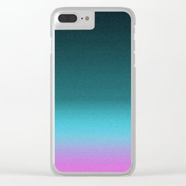 Calm and Breathe Clear iPhone Case