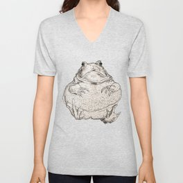 Draw Me Like One Of Your French Frogs Unisex V-Neck