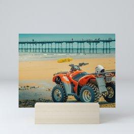 Vintage Baywatch Mini Art Print