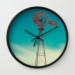 WINDMILL SKY  Wall Clock